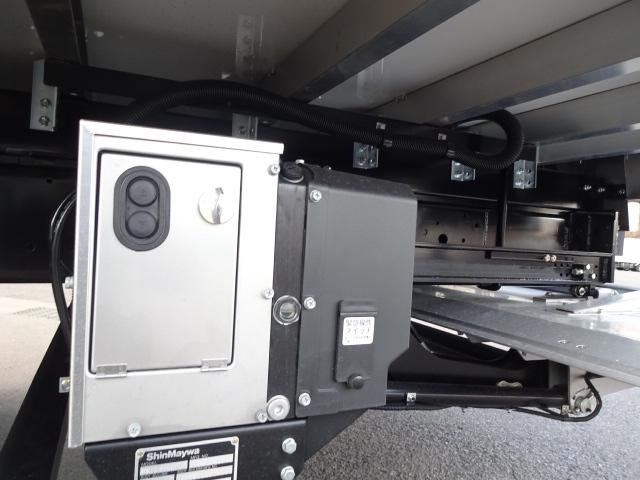 三菱 H30 ファイター フルワイド低温冷凍車 格納PG 画像17
