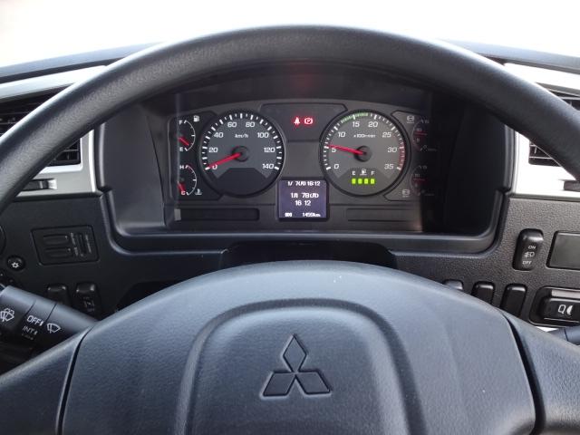 三菱 H30 ファイター フルワイド低温冷凍車 格納PG 画像20