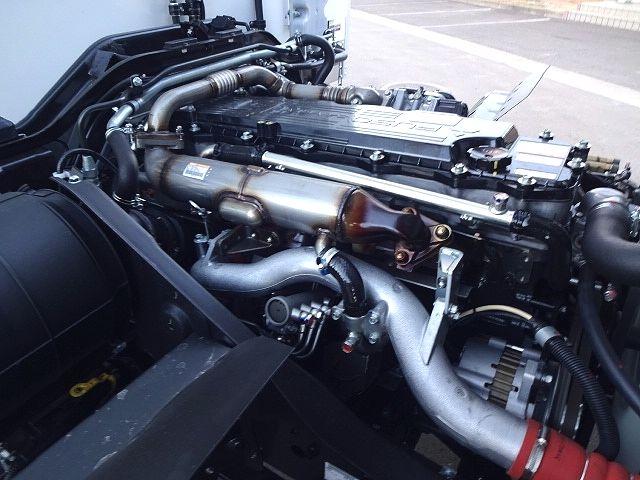 三菱 H30 ファイター フルワイド低温冷凍車 格納PG 画像27