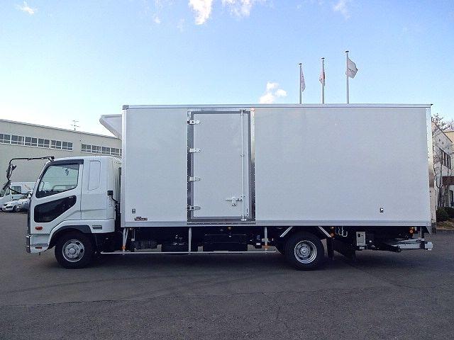 三菱 H30 ファイター フルワイド低温冷凍車 格納PG 画像4