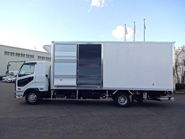三菱 H30 ファイター フルワイド低温冷凍車 格納PG 画像5
