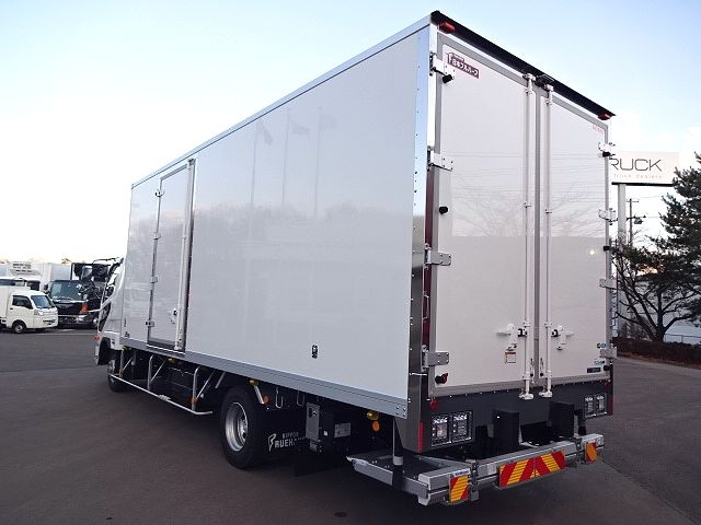 三菱 H30 ファイター フルワイド低温冷凍車 格納PG 画像7
