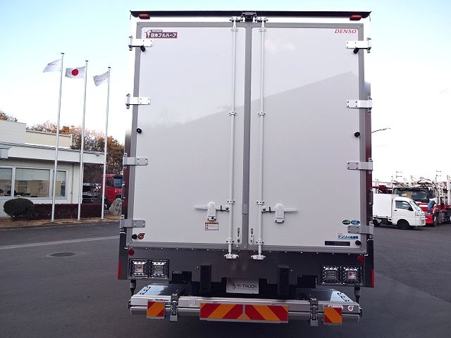 三菱 H30 ファイター フルワイド低温冷凍車 格納PG 画像8