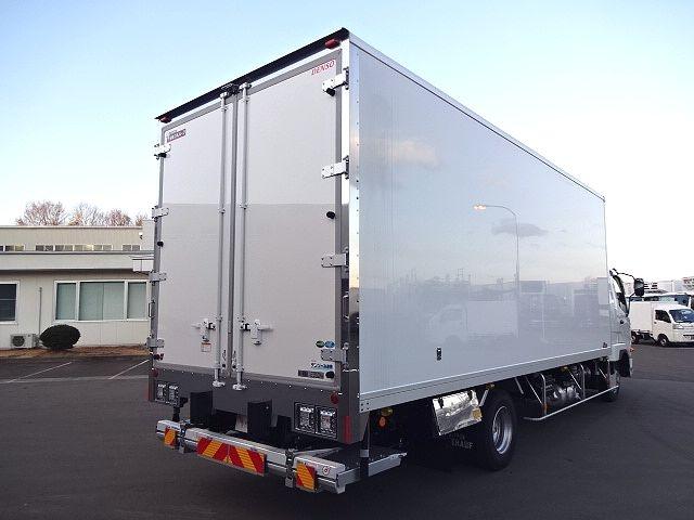 三菱 H30 ファイター フルワイド低温冷凍車 格納PG 画像9