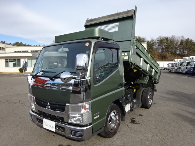 三菱 H23 キャンター カスタム 強化ダンプ ★ 画像1