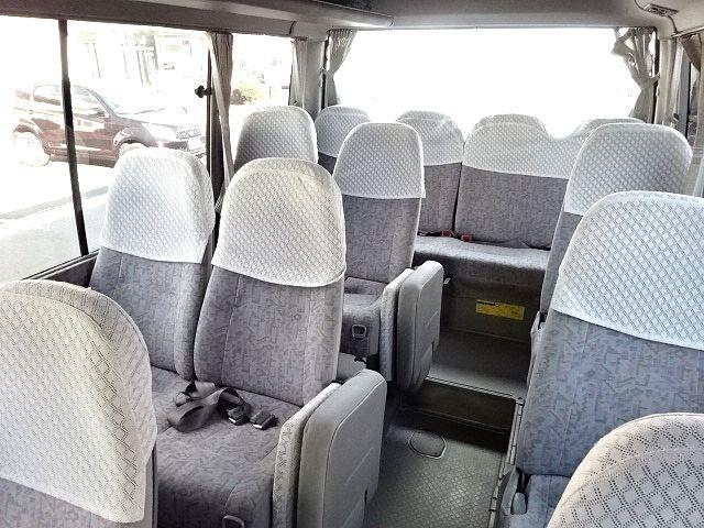 トヨタ コースター EX ロング ハイルーフ 29人乗り 画像12
