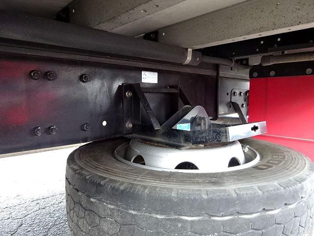 三菱 H27 スーパーグレート 4軸低床アルミウィング 画像17