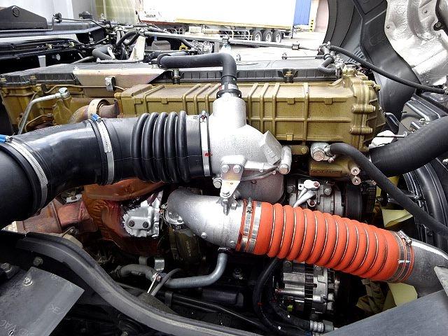 三菱 H27 スーパーグレート 4軸低床アルミウィング 画像23
