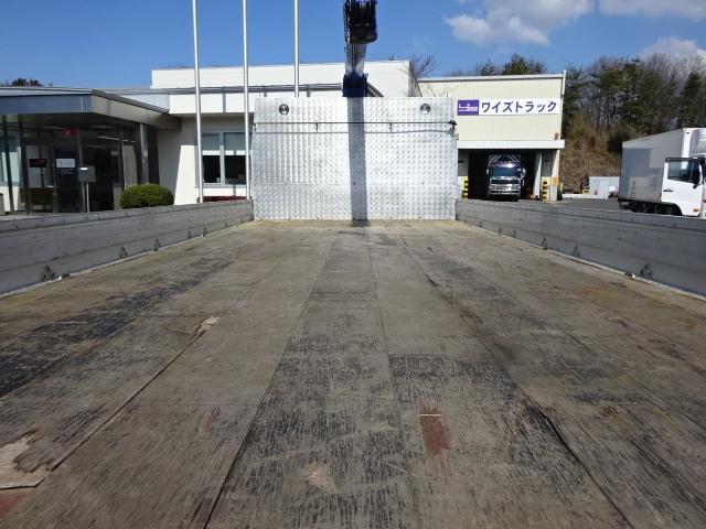三菱 H26 ファイター ワイド 平 4段クレーン 画像17