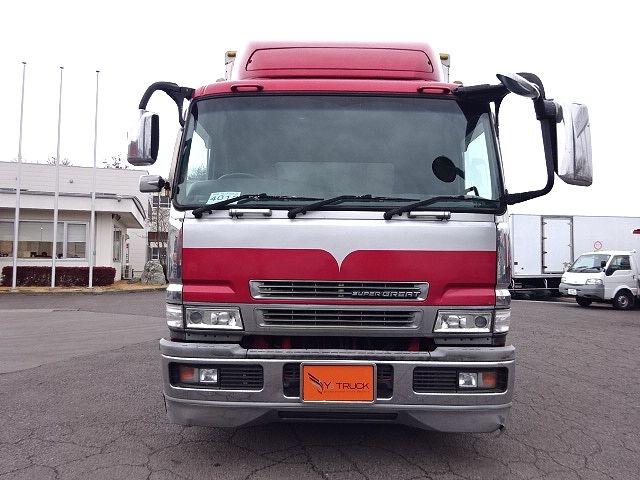 三菱 H16 スーパーグレート 4軸低床アルミウィング★ 画像2