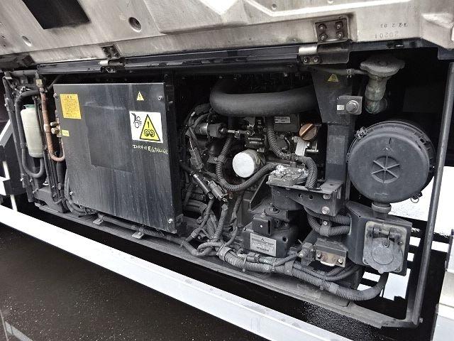 UD H24 クオン 3軸冷凍車 格納PG キーストン 画像16