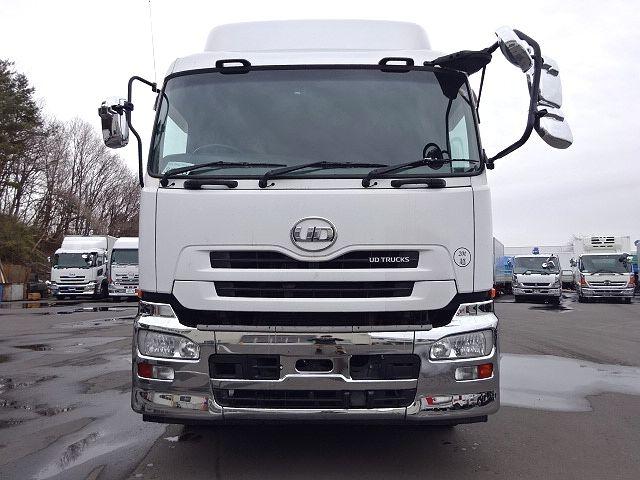 UD H24 クオン 3軸冷凍車 格納PG キーストン 画像2