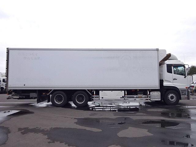 UD H24 クオン 3軸冷凍車 格納PG キーストン 画像5