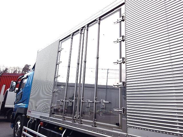 三菱 スーパーグレート 冷凍車 サイド観音扉 キーストン 画像13