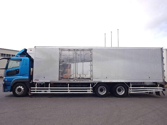 三菱 スーパーグレート 冷凍車 サイド観音扉 キーストン 画像4