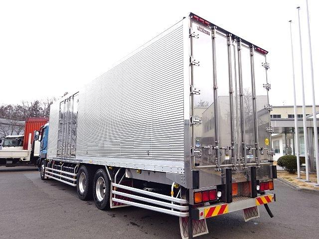 三菱 スーパーグレート 冷凍車 サイド観音扉 キーストン 画像6