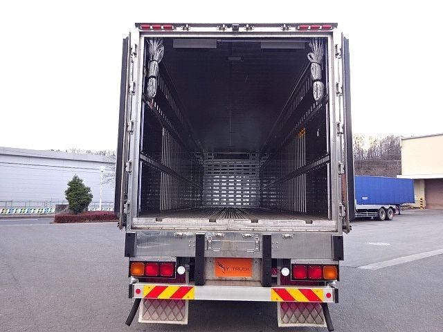 三菱 スーパーグレート 冷凍車 サイド観音扉 キーストン 画像9