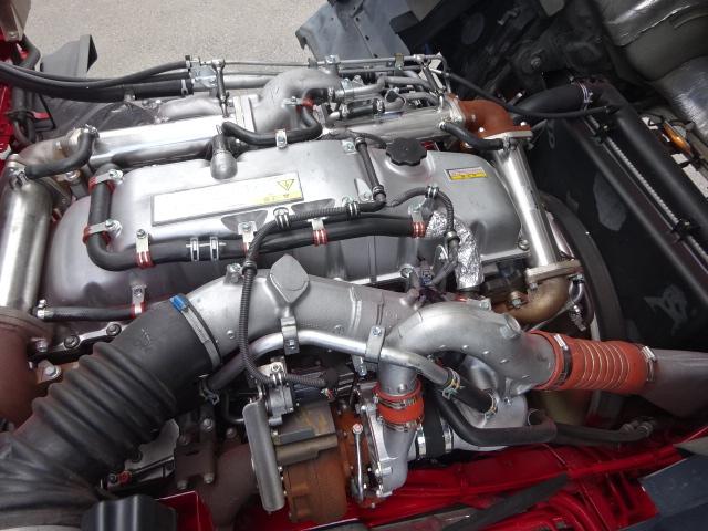 いすゞ H24 ギガ ハイルーフ 4軸低床アルミウィング 画像22
