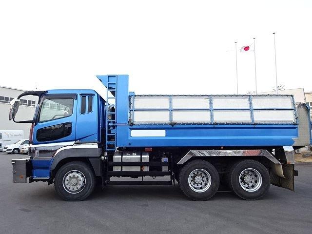 三菱 H22 スーパーグレート ダンプ 510X220★ 画像6