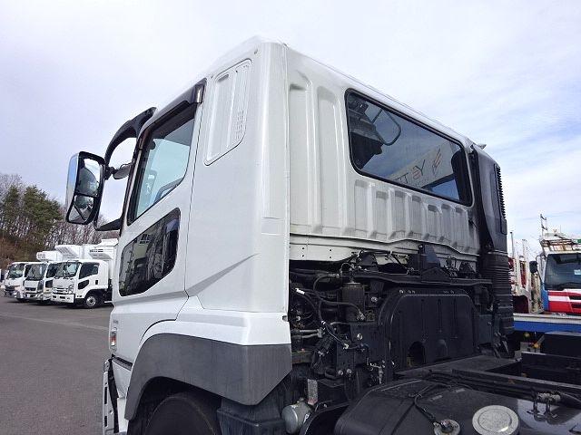 三菱 H25 スーパーグレート ダンプ 510X230★ 画像21