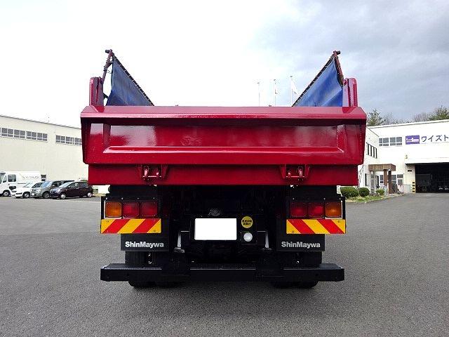三菱 スーパーグレート ハイルーフ ダンプ 車検付 画像8