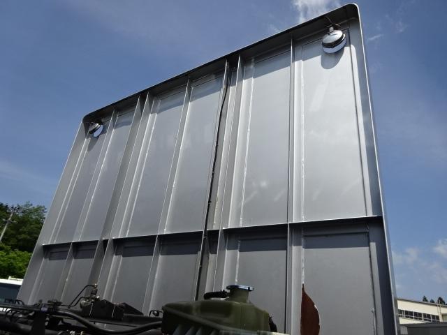 三菱 H22 スーパーグレート 3軸 平 アルミブロック 画像12