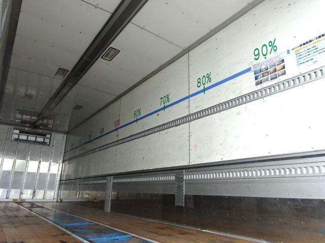 三菱 H21 スーパーグレート 4軸低床 冷凍ウィング 画像11