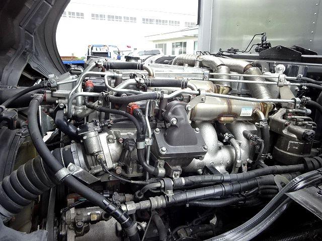 三菱 H21 スーパーグレート 4軸低床 冷凍ウィング 画像17