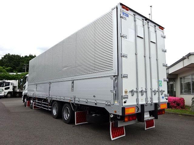 三菱 H21 スーパーグレート 4軸低床 冷凍ウィング 画像8