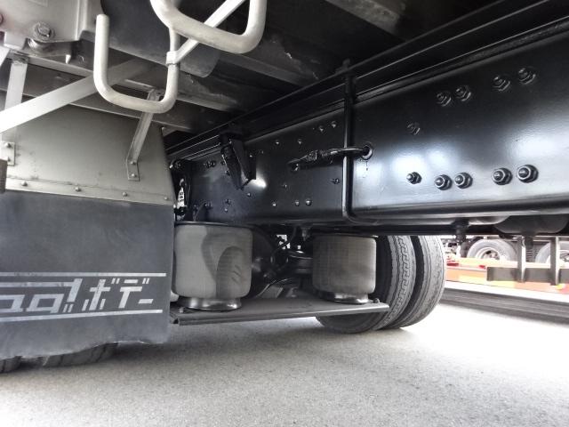 三菱 H18 スーパーグレート 4軸低床冷凍ウィング 画像6