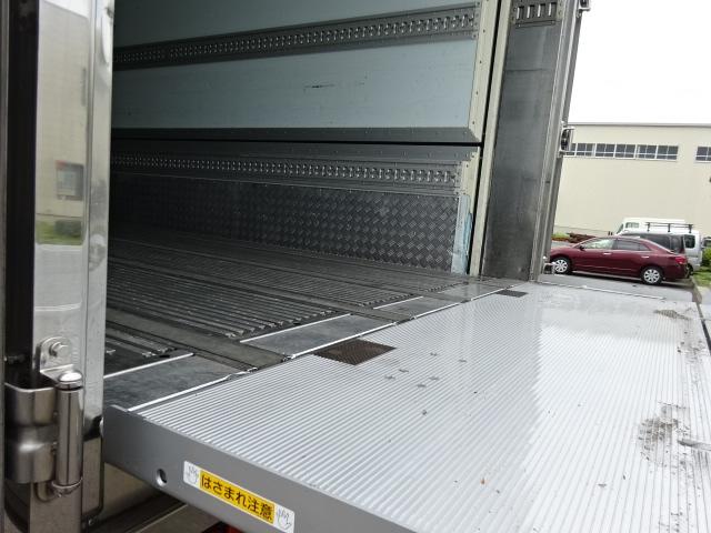 いすゞ ギガ 低温冷凍ウィング 格納PG キーストン 画像19