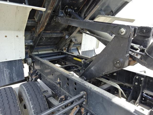 三菱 H27 キャンターワイド ダンプ Lゲート 車検付 画像4