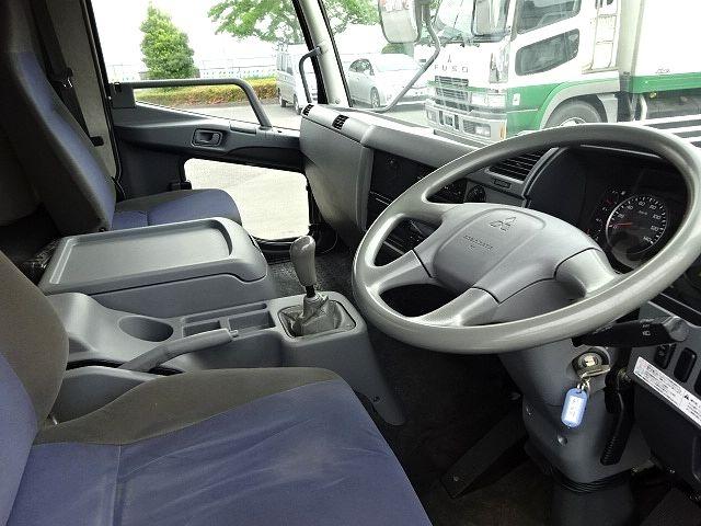 三菱 H23 ファイター フルワイド 低温冷凍車 画像19