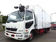 三菱 H23 ファイター フルワイド 低温冷凍車