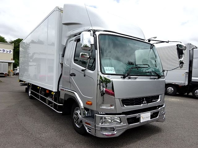 三菱 H27 ファイター ワイド 低温冷凍車 格納PG 画像3