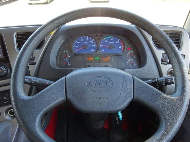 UD H25 クオン 3軸 低温冷凍車 キーストン 画像23