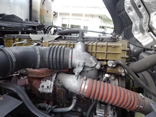 三菱 H28 スーパーグレート 3軸 低温冷凍車 画像16
