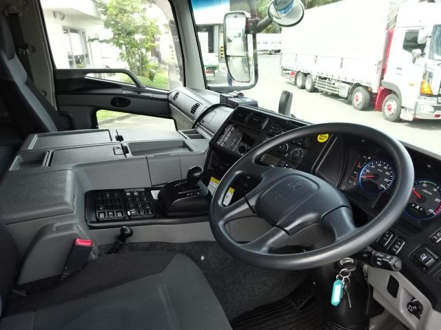 三菱 H28 スーパーグレート 3軸 低温冷凍車 画像22