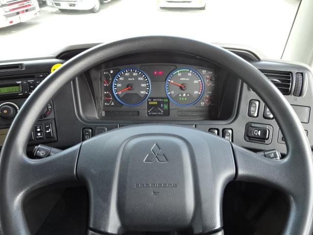 三菱 H28 スーパーグレート 3軸 低温冷凍車 画像23