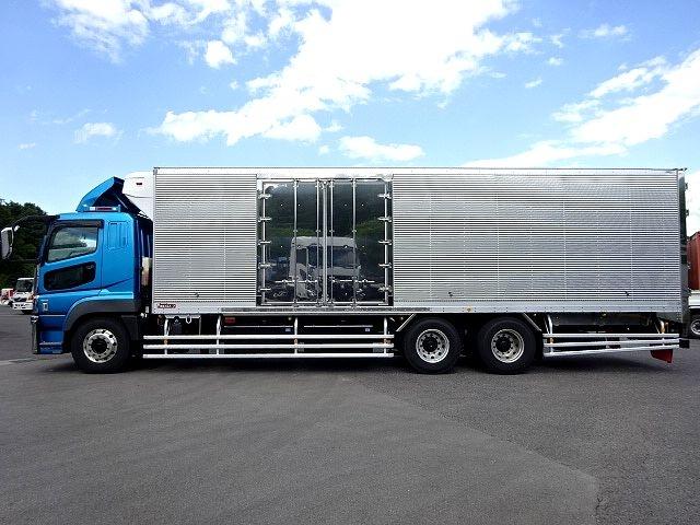 三菱 H28 スーパーグレート 3軸 低温冷凍車 画像4