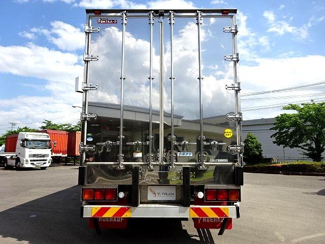 三菱 H28 スーパーグレート 3軸 低温冷凍車 画像8